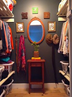 Before & After: Becky's Brilliant Basket-Based DIY Closet Organizer System