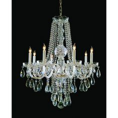 Crystorama Swarovski Elements Crystal Chandelier