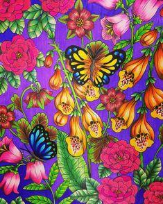 #おとなのぬりえ #大人の塗り絵 #ぬりえ #野の花のぬり絵ブック #マリアトロッレ #コロリアージュ #adultcoloringbook #coloring #coloriage #coloringbook #mariatrolle #flower #wildflowers  #색칠공부  #색칠 #컬러링북