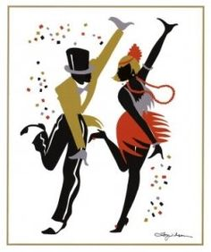 The Charleston was by far the most popular dance during the 20's. it was a way to have fun and let loose while at speakeasies and such.