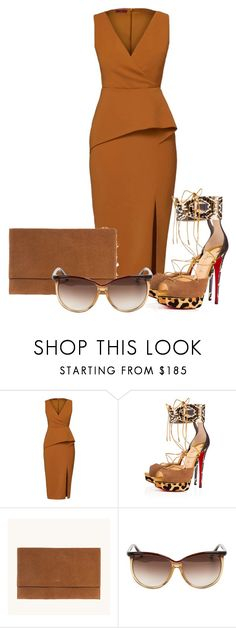 """Untitled #48"" by ms-hinds ❤ liked on Polyvore featuring WtR, Christian Louboutin and Tom Ford"
