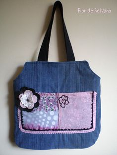 really cute jeans bag