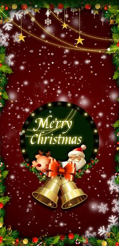 christmas Merry Christmas Wallpaper, Merry Christmas Wishes, Holiday Wallpaper, Merry Christmas And Happy New Year, Christmas Love, Christmas Pictures, Merry Xmas, Christmas Holidays, Christmas Decorations