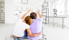 Decorating Tips for Couples - DIY Home Interior Diy Home Interior, Diy Home Decor Bedroom, Room Decor, Condo Living, New Living Room, Contexto Social, Moving In Together, Selling Your House, Types Of Houses