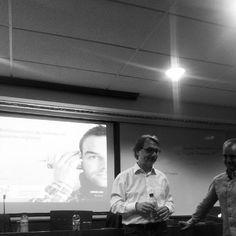 Con Pepe Tomé en su charla sobre monitorización en el #Bemarketingday de EADA el 2 de octubre 2014