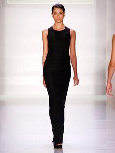 Albina walks the runway at the Bonkuk Koo spring 2013 fashion show during Style360 at Metropolitan Pavillion on Sept. 11, 2012, in New York.