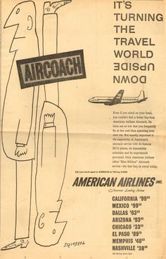 American Airlines – It's Turning the World Upside Down. (1954)...2013!?