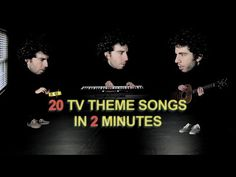 This Guy Performs All Your Favorite TV Theme Songs In 2 Minutes