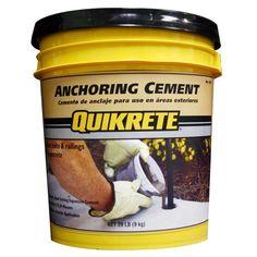 Quikrete 20 lb. Anchoring Cement Concrete Mix