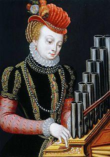 Santa Cecilia, de Ambrosius Benson (1495-1550), en la Weiss Gallery