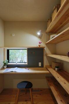 K様邸/プレジール/OM/トラッド Home Office Furniture Design, Home Office Design, House Design, Boys Bedroom Decor, Room Ideas Bedroom, Building A Container Home, Minimalist Room, Workspace Design, Interior Decorating