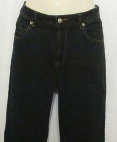 07a0d40c Chicos Womens Pants Blue Jeans 0 Reg XS 4 6 Abalone Skinny 29 Inseam Dark  Wash #Chicos #StraightLeg