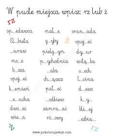 karty-pracy-ucznia-ortografia-dla-dzieci-dyktando-szkoła-ch-h-rz-ż-ó-u-testy-do-wydruku-dla-dzieci (2)