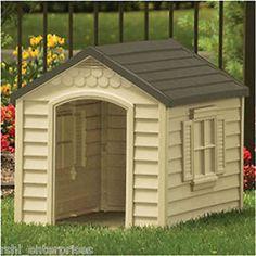 Suncast Deluxe Dog House