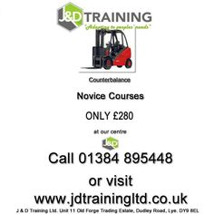 Counterbalance Novice Courses Only 280 at http://ift.tt/1HvuLik RT #offers #jobsearch #training #safety #forklift