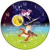 Found it at Wayfair.co.uk - The Cow Jumped Over the Moon Round Children's Wall Clock