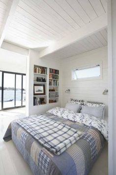 Floating home bedroom