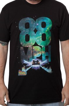 88 MPH Back to the Future T-Shirt: Back To The Future Mens T-shirt