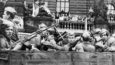 Historic Photographs and Book by Paul Goldsmith of the Soviet invasion of Prague 1968 with comments by George Schulz and Condoleeza Rice. Prague Spring, Prague Photos, Warsaw Pact, Visit Prague, Eastern Europe, World War Ii, Old Photos, Wwii, 1970s