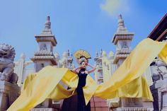 Artistic photo shoot at Temple