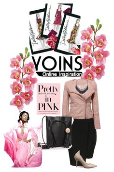 """""""Pretty in Pink"""" by latanya-dunn ❤ liked on Polyvore featuring Laura Cole and Dolce&Gabbana"""