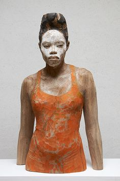 Human sculpture (wood) by Bruno Walpoth. Ceramic Sculpture Figurative, Sculpture Clay, Figurative Art, Human Sculpture, Human Icon, Contemporary Sculpture, Oeuvre D'art, Lovers Art, Sculpting