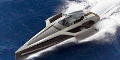 Audi Trimaran Concept: en la cresta de la ola