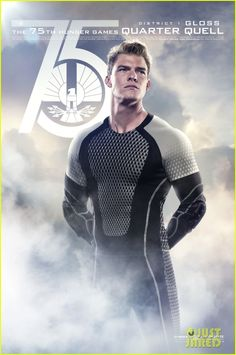 Alan Ritchson (Gloss): New 'Catching Fire' Posters