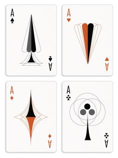 Each card in The Retro Deck has been totally redesigned to encapsulate the Mid Century Modern aesthetic, including the pips and the court cards. So go ahead, kick back in your Eames chair with whiskey