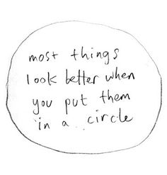 circle, note, quote, rule, simple