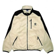 VINTAGE ADIDAS FLEECE JACKET - RIGHTSTUFF WebStore