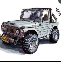 Suzuki Jimny Off Road, Jimny Suzuki, Custom Jeep, Custom Trucks, Custom Cars, Jeep Cars, Jeep 4x4, Jimny 4x4, Suzuki Carry