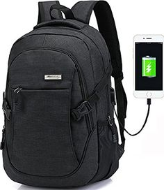 784f6d8a8c64 Amazing offer on Trustbag a-001 Business Laptop Backpack USB Charging Port