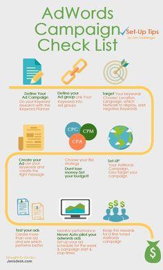 Tips for Adwords campaigns Inbound Marketing, Digital Marketing Strategy, Marketing Tools, Marketing Plan, Sales And Marketing, Business Marketing, Internet Marketing, Online Marketing, Social Media Marketing