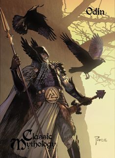 Odin Base Card Art - Richard Pace by Pernastudios.deviantart.com