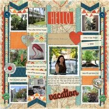 Zoe Pearn Wanderlust kit and template