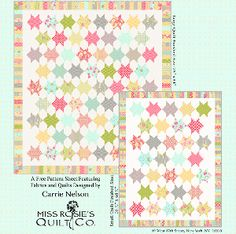Nine Dots by Carrie Nelson of Miss Rosie's Quilt Company