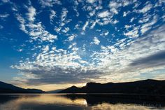 Stunning lakes and sky shot from Vernon BC.  http://mfoto.ca/blog