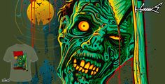 T-shirts - Design: The Running Dead - by: ADAM LAWLESS