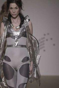 Transparent Futuristic Fashion: Anna Holvik Gets Inspiration from Science Fiction