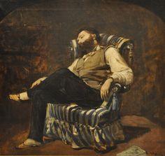 RAMON MARTÍ I ALSINA   La migdiada    1884
