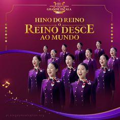 "Christian Choir Song ""Kingdom Anthem: The Kingdom Descends Upon the World"" Praise And Worship Songs, Praise God, Worship God, Choir Songs, Christian Religions, Finding God, Christian Songs, The Kingdom Of God, Faith In God"
