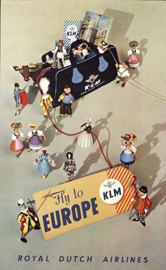 Paul Erkelens and Joop Nisius produced this poster in 1952.