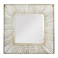 Stratton Home Decor Nicole 26-In X 26-In Gold Square Framed Contempora