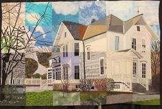 The Jennings Homestead by Suzanne Mouton Riggio. I saw this at Houston Quilt Festival...it is amazing!
