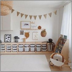 Ooh Noo Spielzeug Schubkarre - kids room Pin by Tina Schaadt on Kinderzimmer in 2020 Playroom Organization, Playroom Decor, Baby Room Decor, Playroom Ideas, Ikea Kids Playroom, Room Baby, Playroom Design, Child Room, Play Room Kids