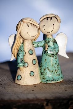 Barriere Barriere The post Barriere appeared first on Salzteig Rezepte. Fimo Clay, Polymer Clay Art, Ceramic Clay, Ceramic Pottery, Pottery Art, Clay Angel, Clay Projects, Clay Crafts, Diy And Crafts