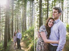Kara + Pete's Adventurous Columbia River Gorge Engagement : Christy Cassano-Meyer