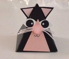 Stampin up Playful pals - cat