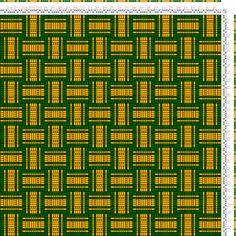 draft image: Karierte Muster Pl. XI Nr. 3, Die färbige Gewebemusterung, Franz Donat, 2S, 2T